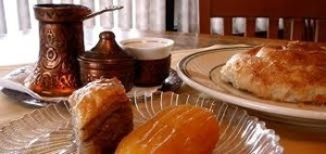 Traditional Coffee and desserts