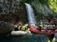 Rafting, waterfalls...