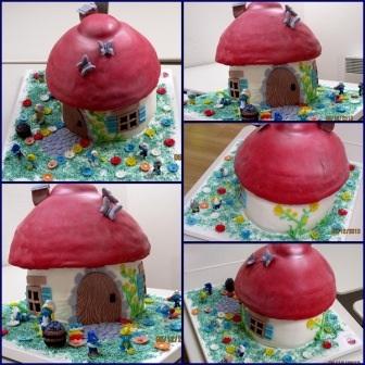 The Smuff Birthday Cake!
