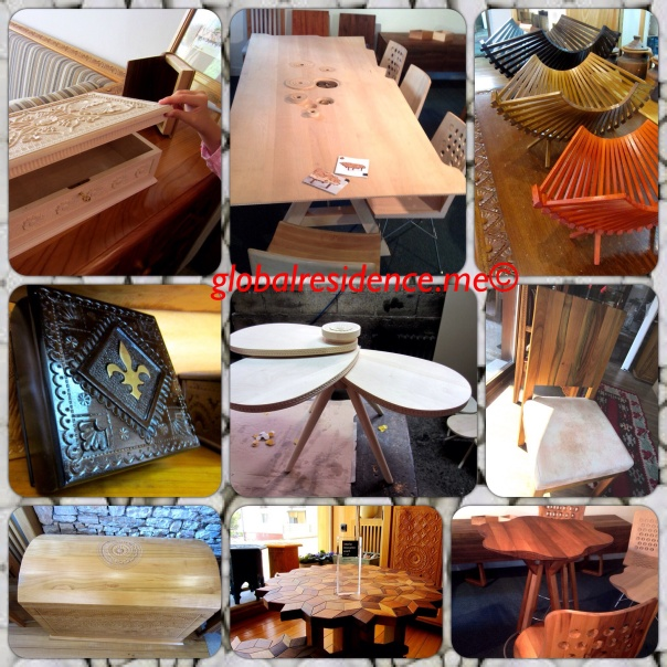 Handcrafted Wood Pieces