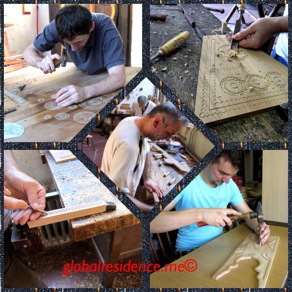 Wood Artisans in Konjic