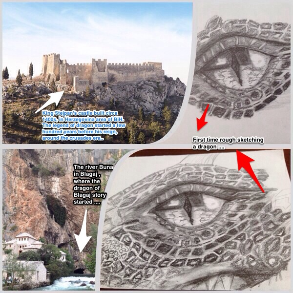 Note on Dragon of Blagaj ....