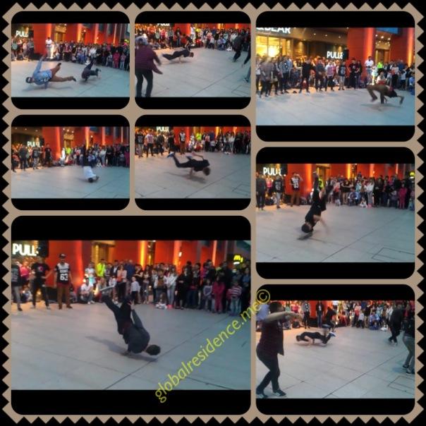 Street performance, Mepas Mall, Mostar, Bosnia & Herzegvina