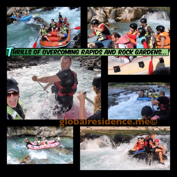The Thrills of Rafting ...